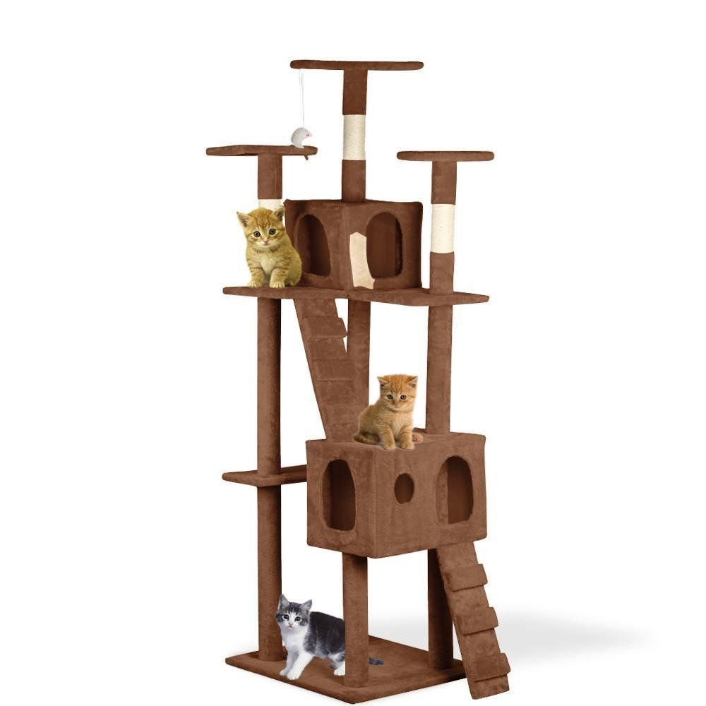 World Pride Cat Activity Tree Furniture Condo 24 x 22 x 73 inches(LxWxH) ** You can get more details here : Cat Tree