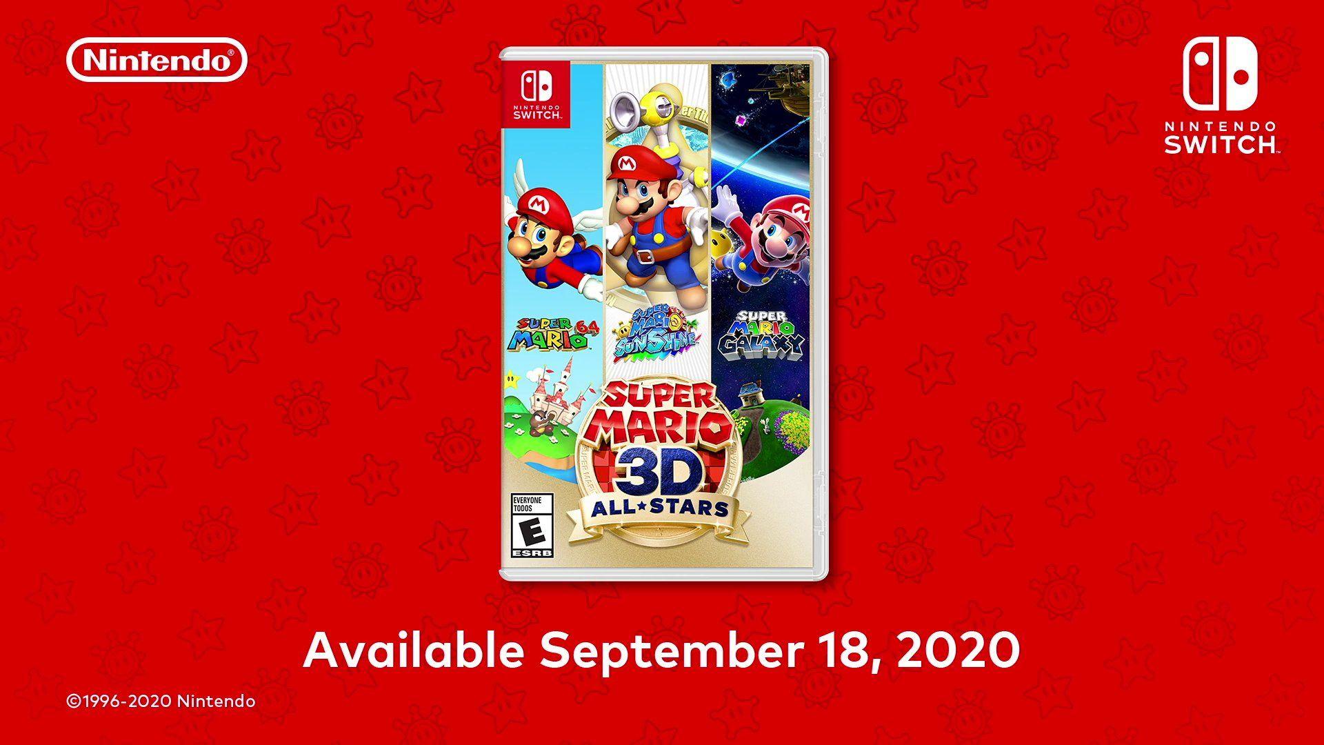 Super Mario 3d All Stars In 2020 Super Mario 3d Super Mario Mario