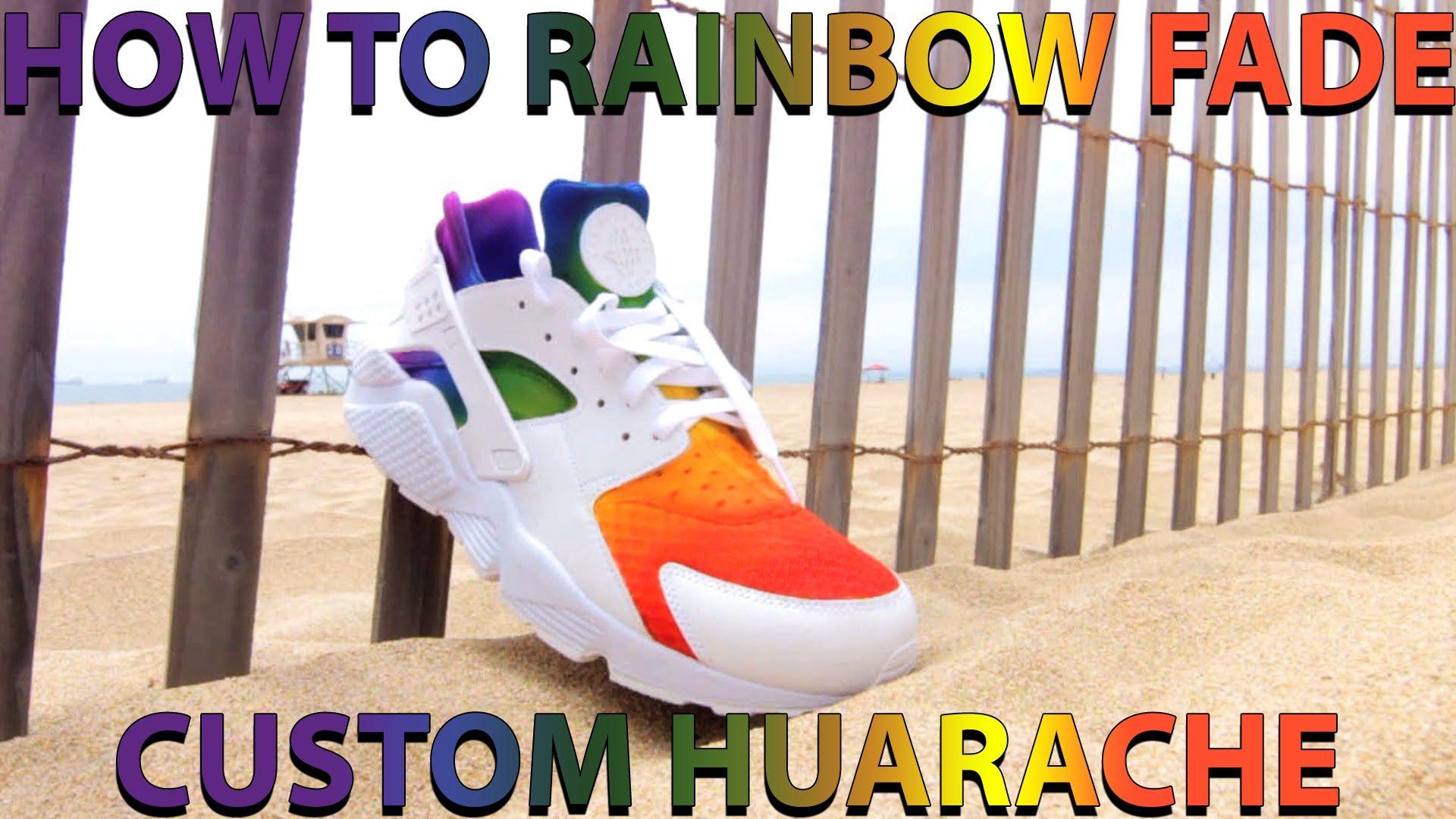a5f9ee5aee9ea2 Rainbow Huarache