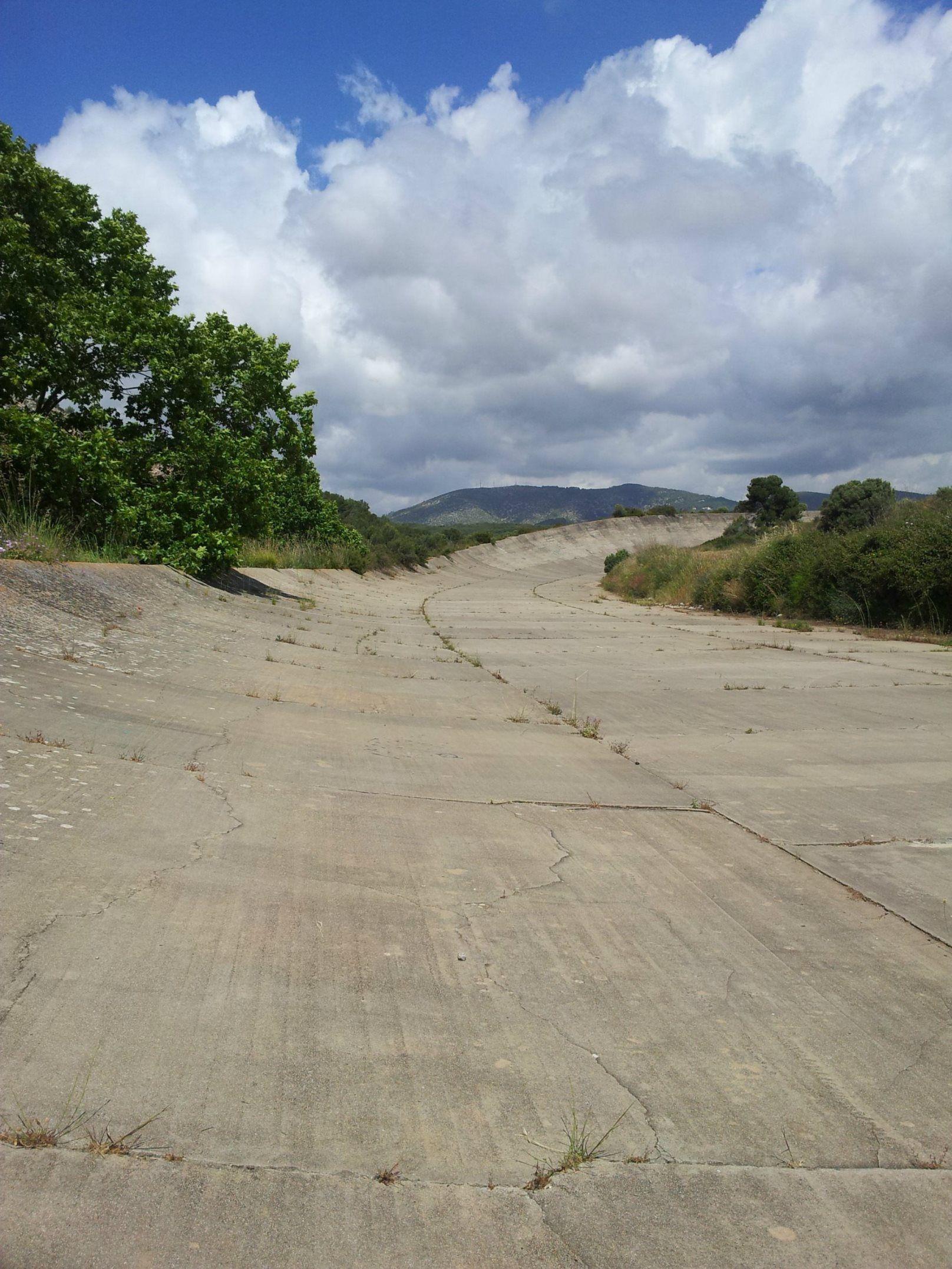 Circuito Terramar : Curva oeste autodromo terramar