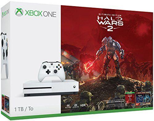 Consola XBox One Slim de 1 TB si joc Halo Wars 2 inclus. cb2cefc2f5