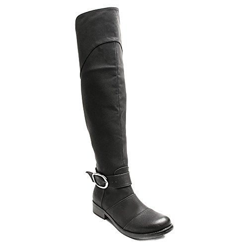 2 Lips Too Too Jayden Women US 65 Black Over the Knee Boot *** For more information, visit image link. (This is an affiliate link) #WomensOverTheKneeBoots