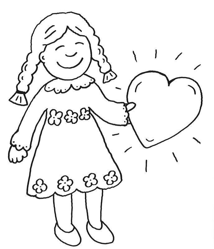 Ausmalbilder für Mädchen girl coloring ausmalbilder  ...