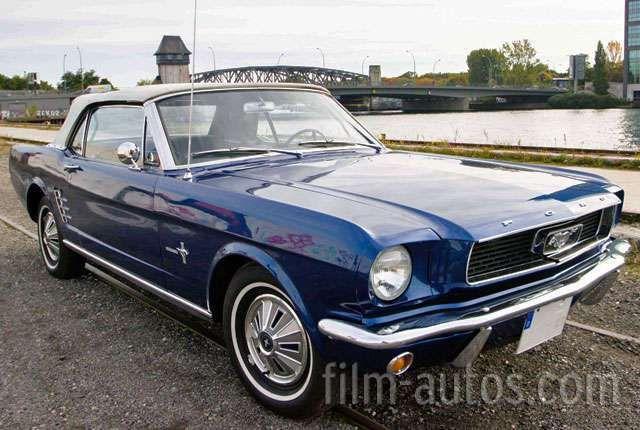 Oldtimer Ford Mustang Cabrio Von 1966 Mieten Film Autos Com Ford Mustang Mustang Vintage Mustang