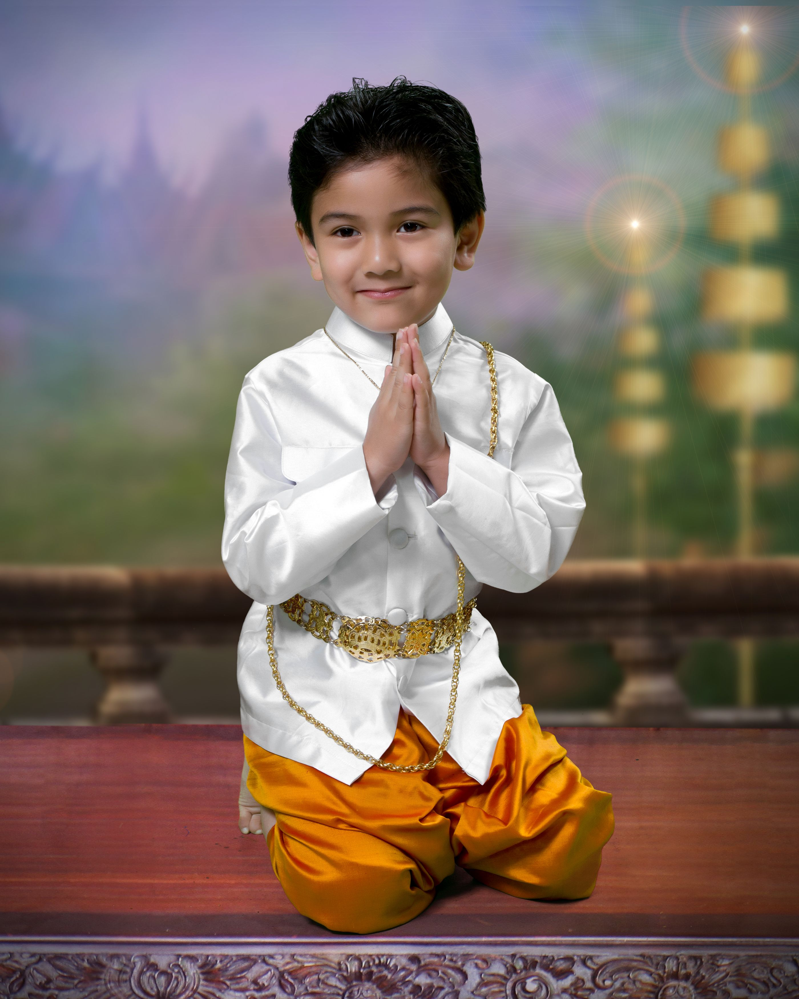 Traditional Thai Dress For Kids Www Imgkid Com The