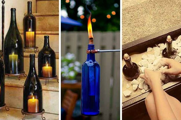 13 creative outdoor projects which you can do yourself 1azing 13 creative outdoor projects which you can do yourself 1azing diy bottle lanterns solutioingenieria Gallery