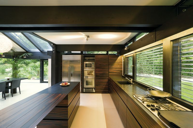 Huf haus prefab kitchen project prefab pinterest for Haus kitchens