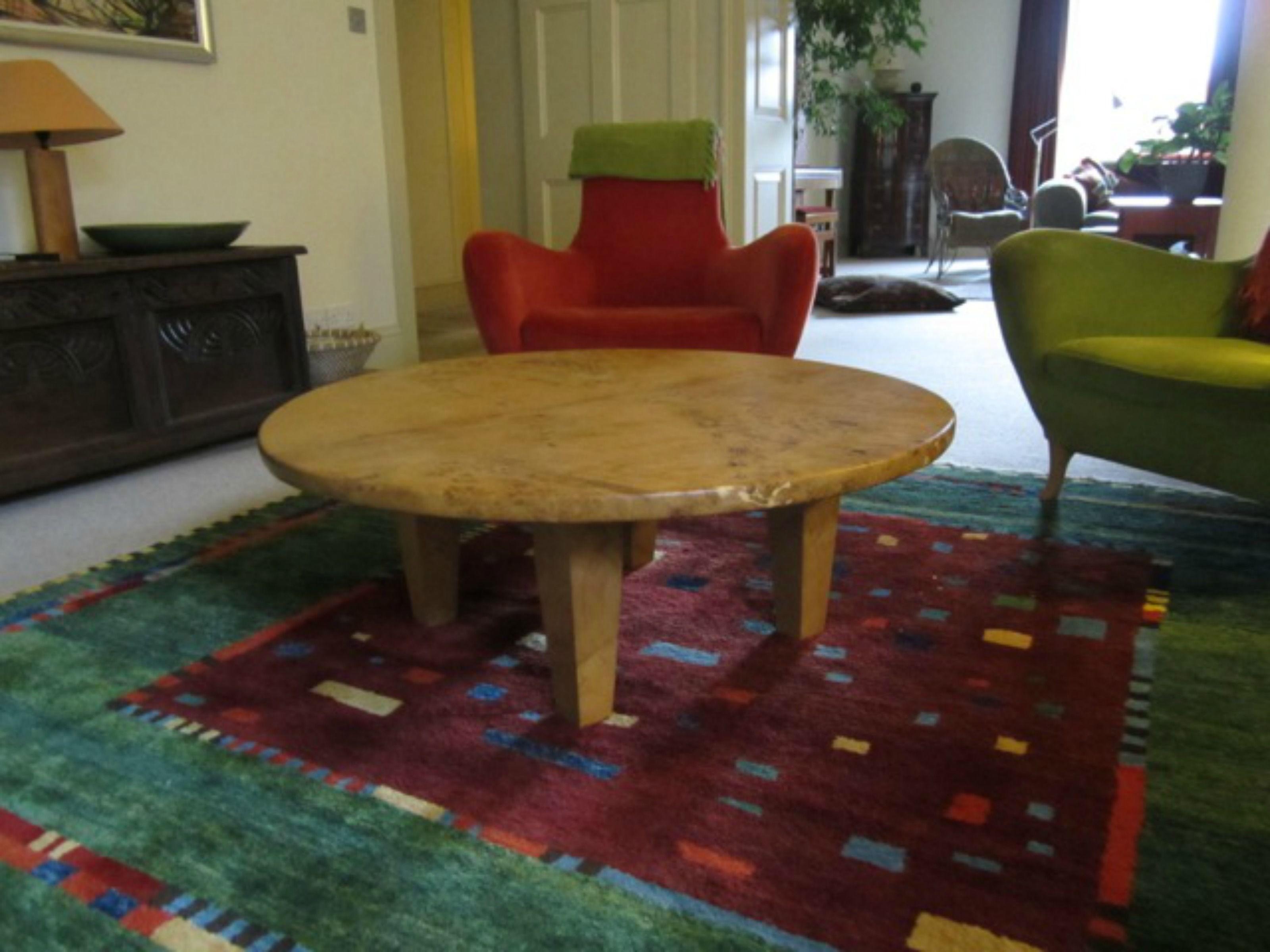 Burr Oak Round Table