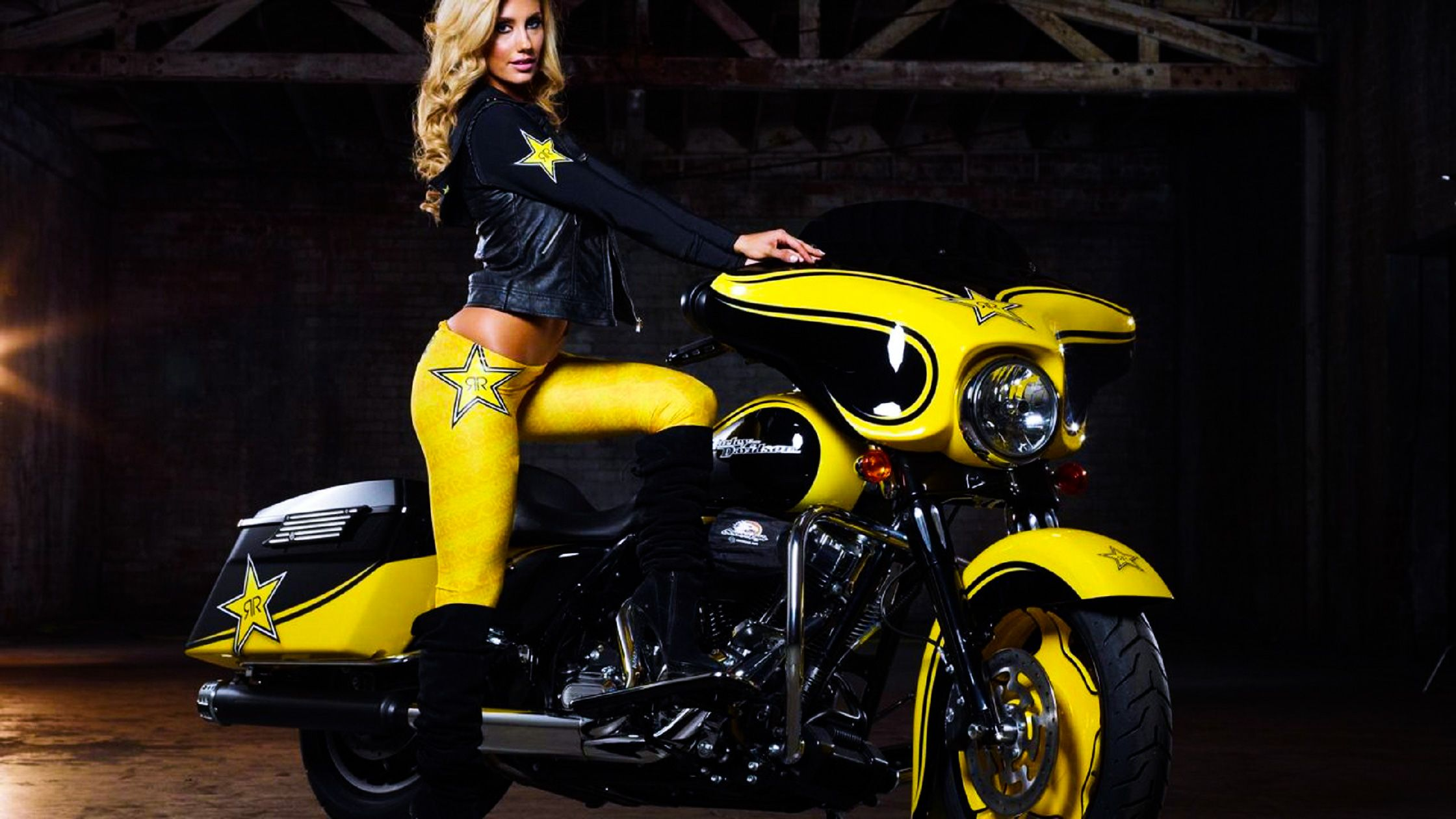 Free harley davidson babes wallpaper country music stars