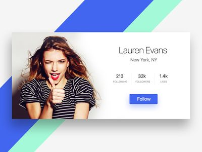 Day 002 - User Profile - Daily UI