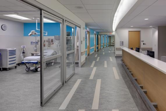 The Emergency Department Features Two Trauma Rooms 10
