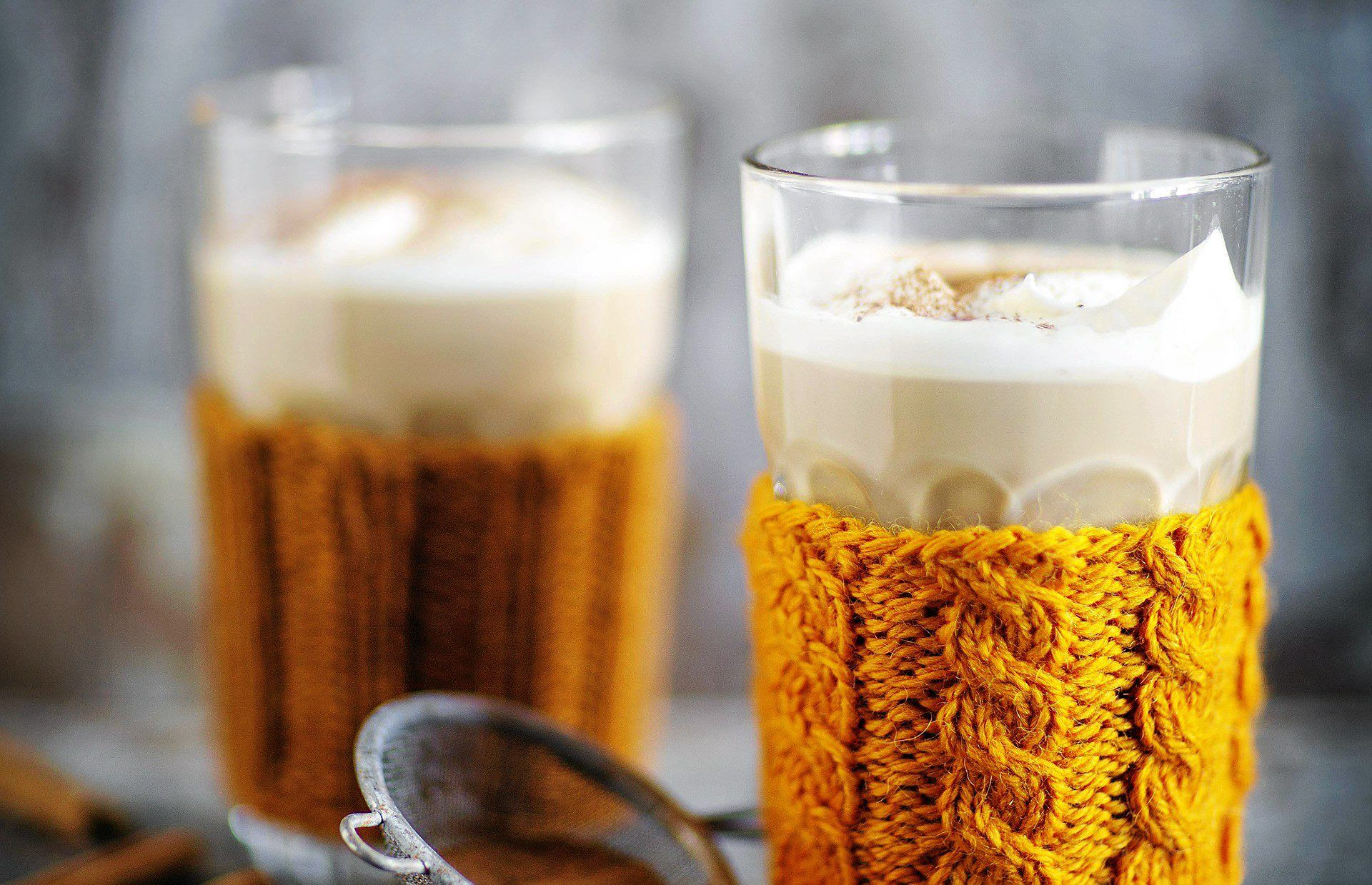 Pumpking spice latte (in Finnish)