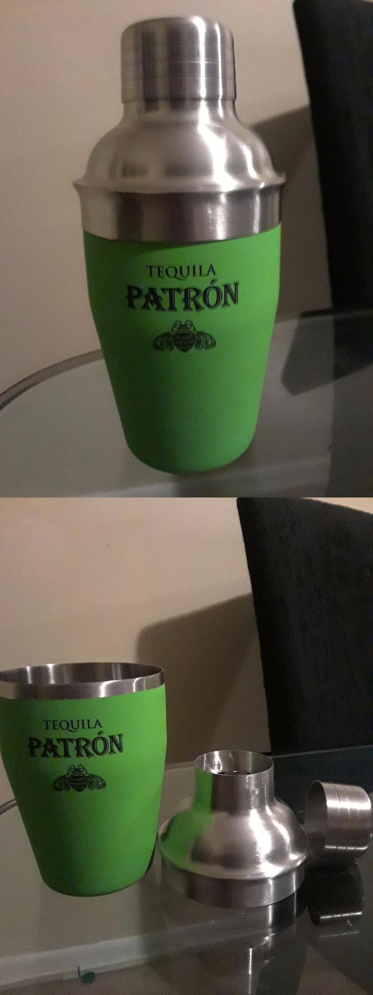 BREKX Hammered Stainless Steel Cocktail Shaker Home Barware Essentials