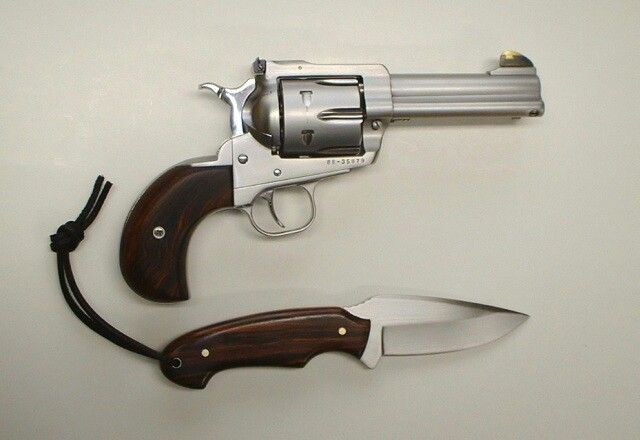 Ruger Blackhawk With Birdshead Grip In Stainless Steel Firearms