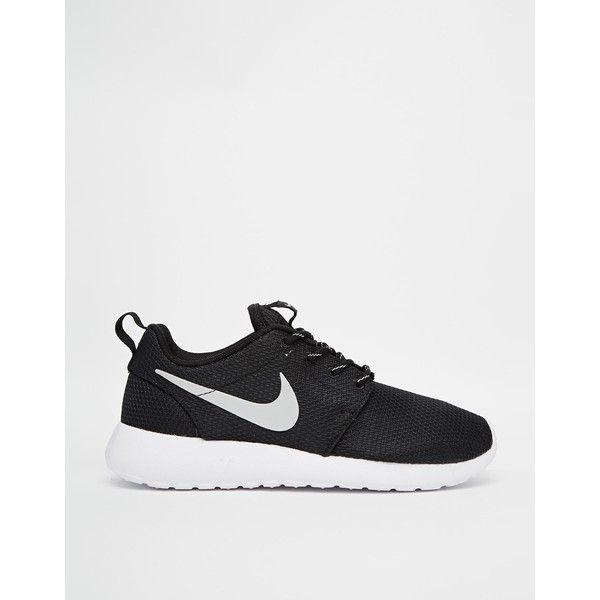 Nike Roshe Run Black Trainers Nike Roshe Run Black Black Sneakers Black Trainers
