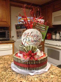 Image result for Retirement Money Cake Money gift idea Pinterest