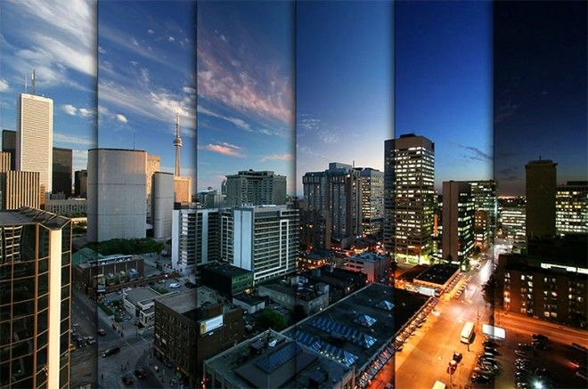 Some examples of timelapse photography merged into one image.