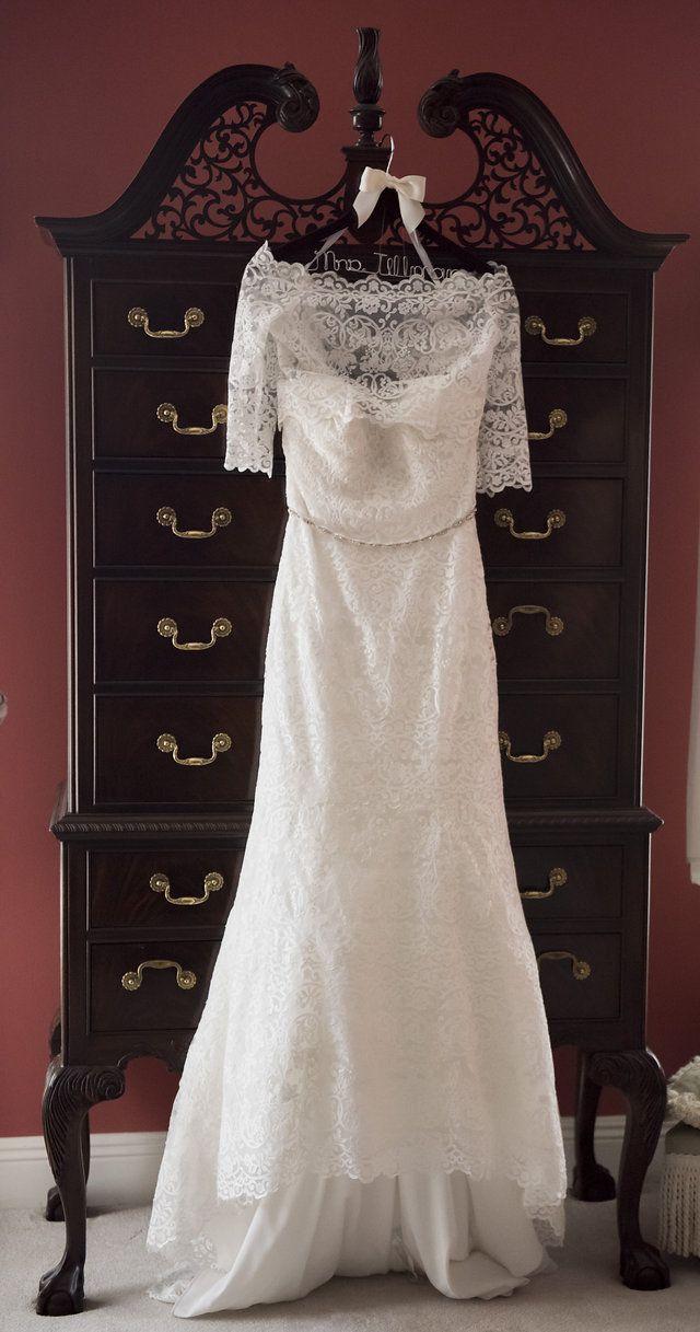 lace wedding dress from I Do Bridal in Mobile, AL #laceweddingdress ...