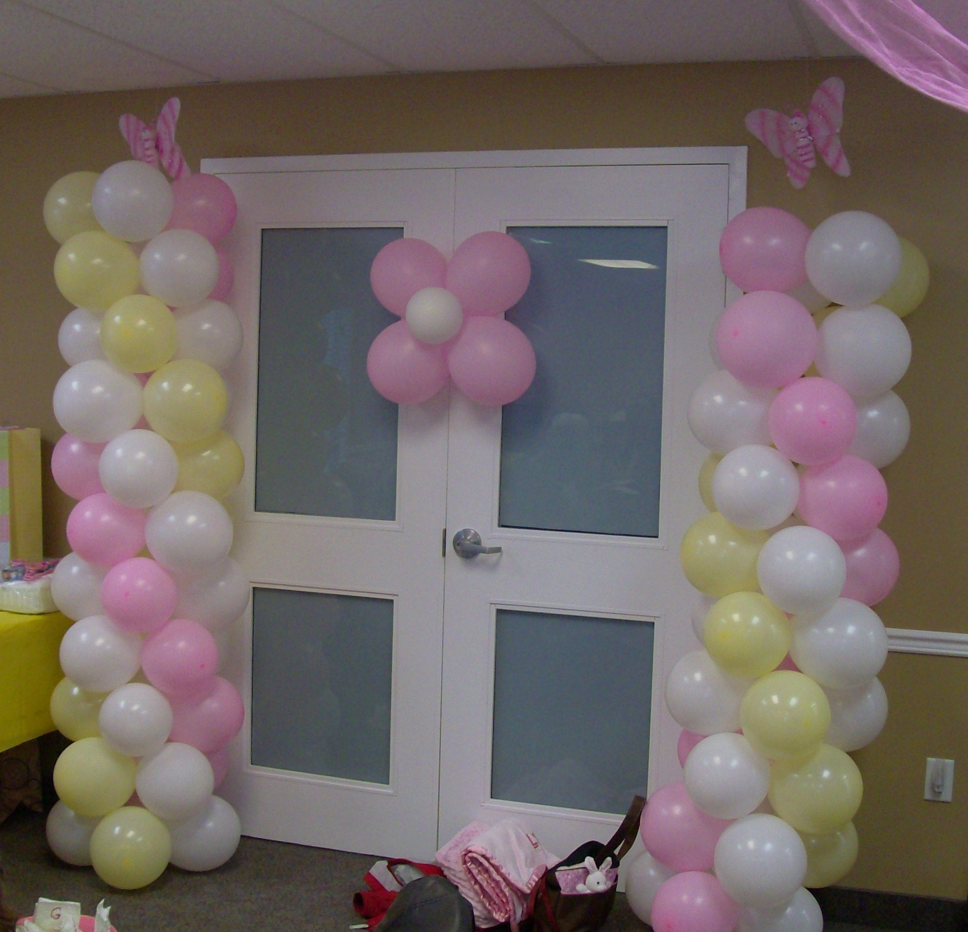 the baby shower theme was butterflies butterfly baby shower idea
