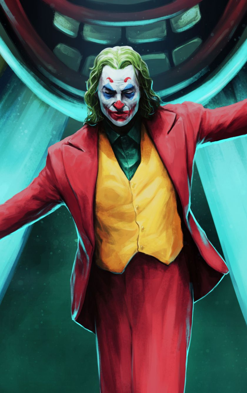 840x1336 2019 Movie Joker Fan Art Wallpaper Joker