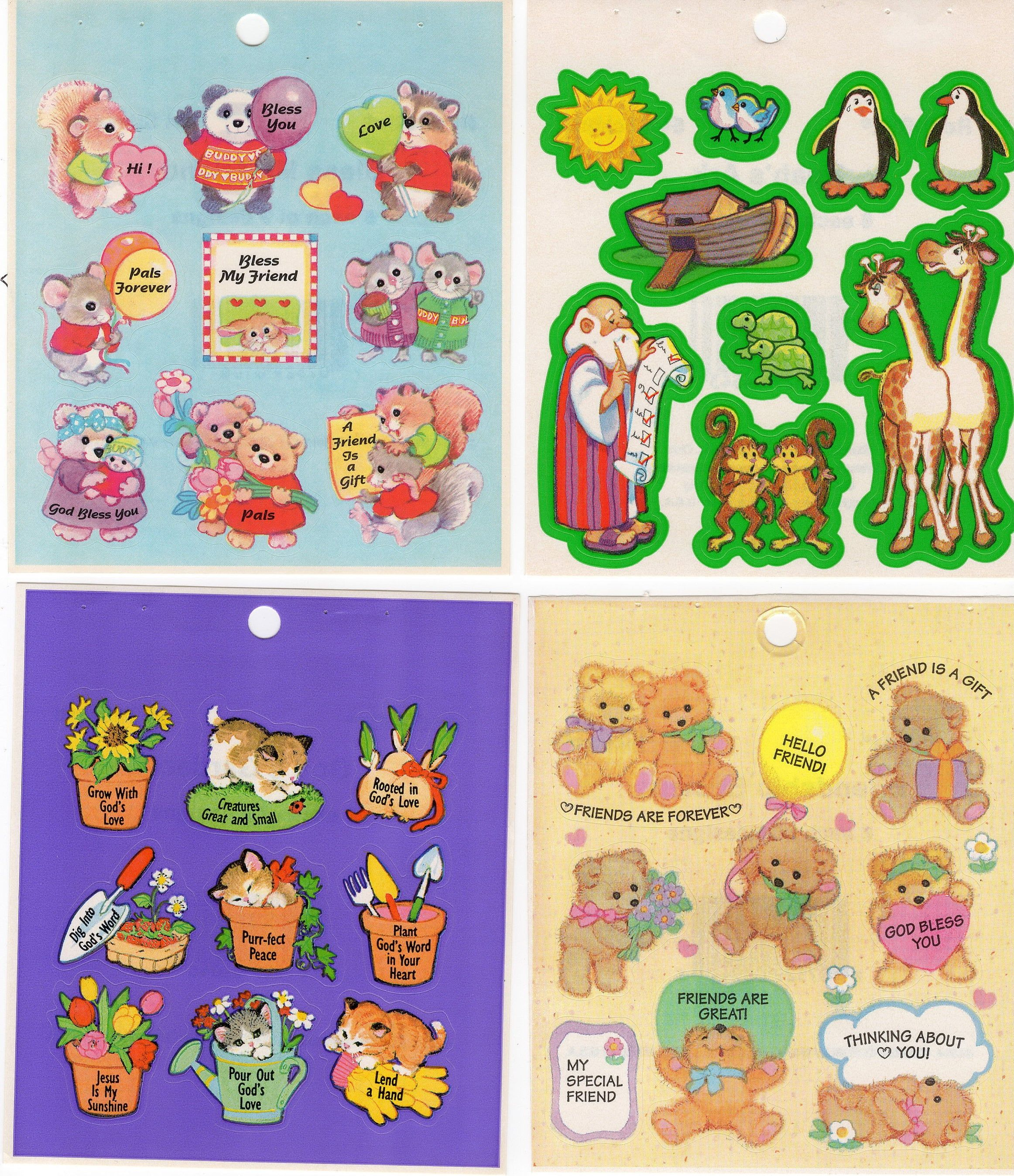 Vintage Redi Stix Stickers Rare Hard To Find Bless My Etsy In 2020 Inspirational Stickers Etsy New Sticker