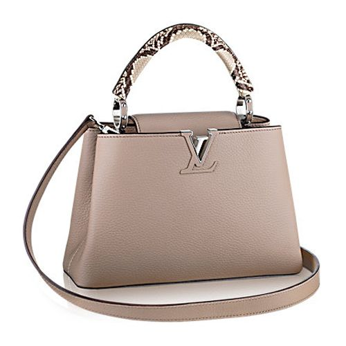 Usa Louis Vuitton Capucines Bb N92041 Galet For