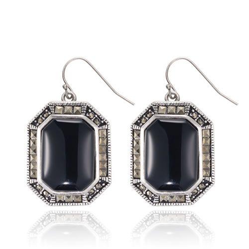 Gaurdian Earings in Black by Samantha Wills