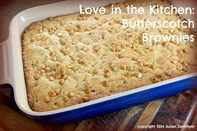 Love in the Kitchen: Butterscotch Brownies