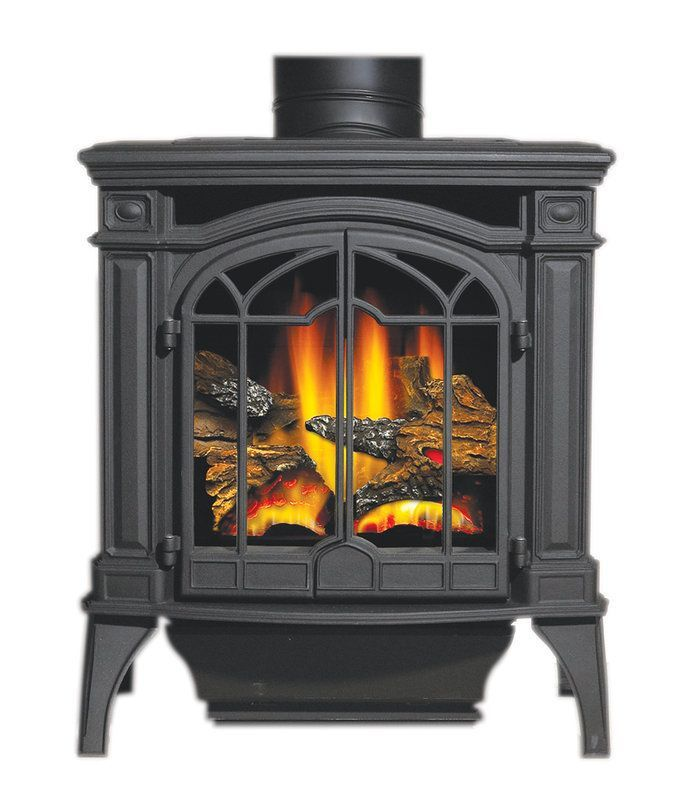 Napoleon Gds25sb 24500 Btu Free Standing Direct Vent Natural Gas Cast Iron Stove Cast Iron Stove Direct Vent Stove