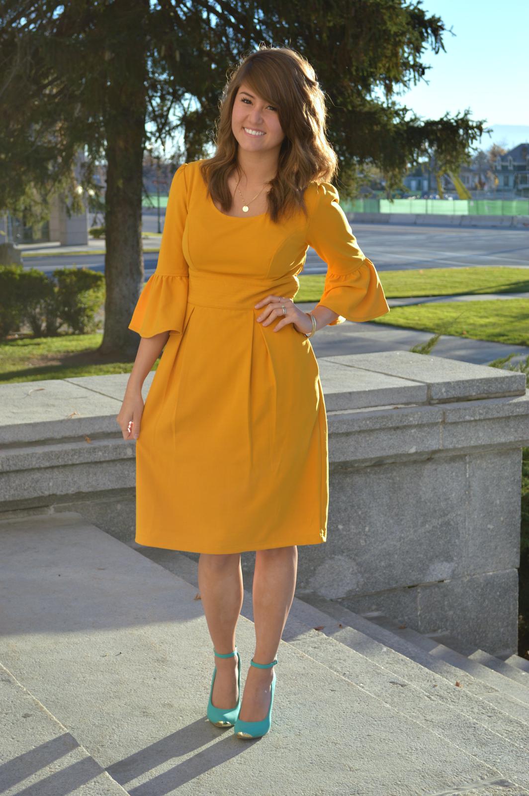 Pin By Loreotravez On Fashion Inspiration Dresses Fashion Yellow Dress [ 1600 x 1064 Pixel ]