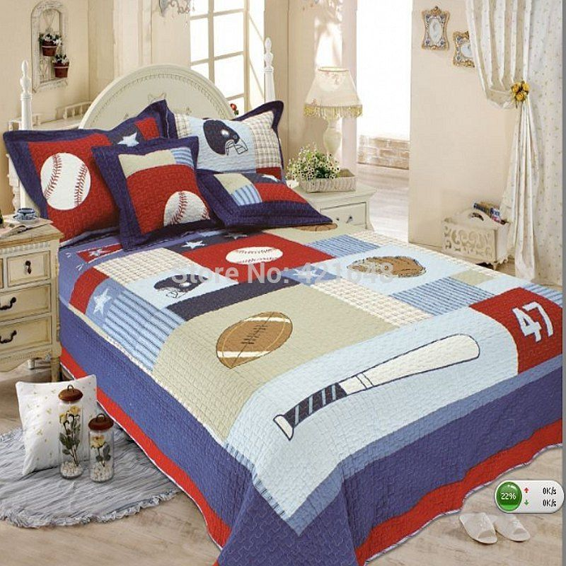 Explore Sports Baseball Quilt Sets And More