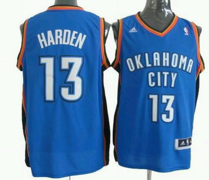 huge discount 04e1d cc05f James harden thunder jersey | Retro Jerseys | Oklahoma city ...