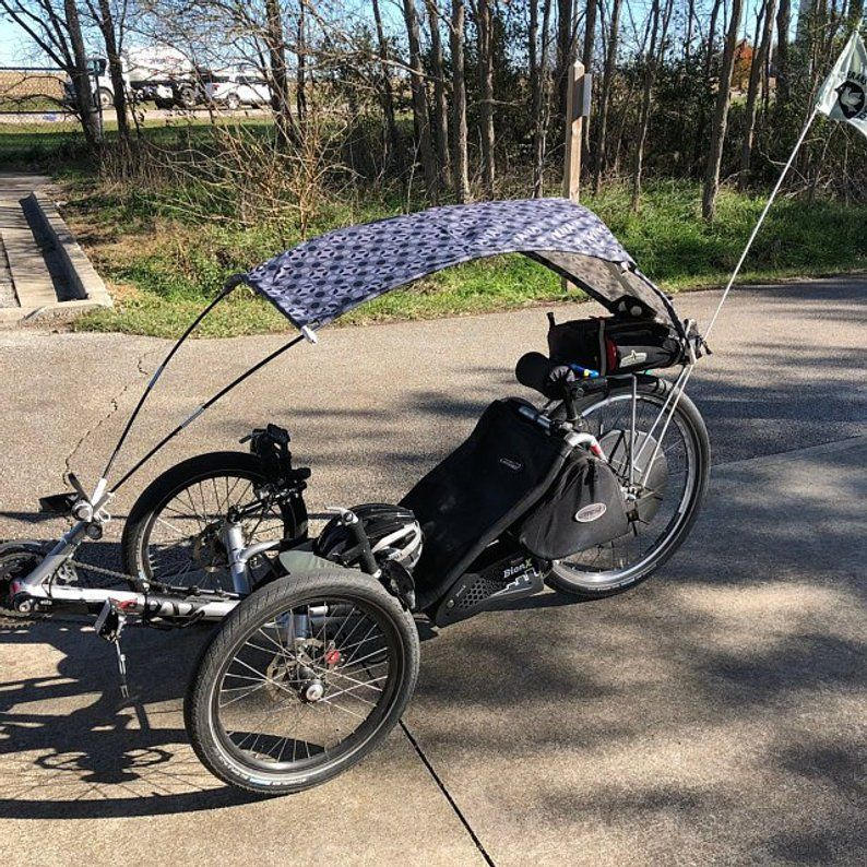 Protection For 3 Wheeled Recumbent Bikes Bike Types Of Cycling Trike