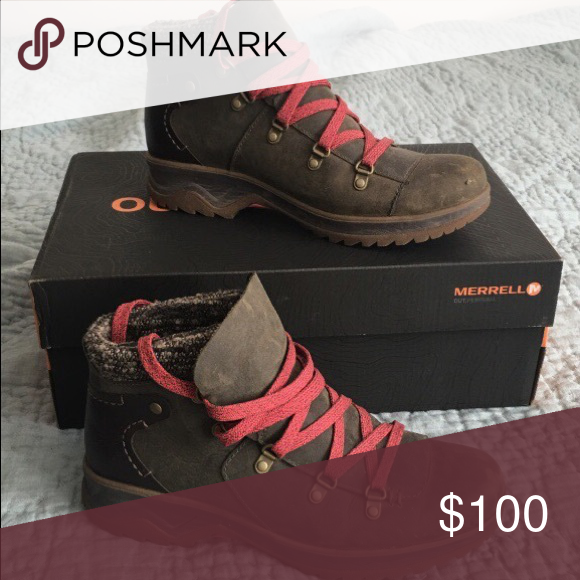 Boots, Hiking boots, Merrell shoes
