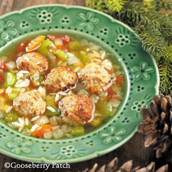 Gooseberry Patch Recipes: Mexican Albondigas Soup from 101 Christmas Recipes Cookbook