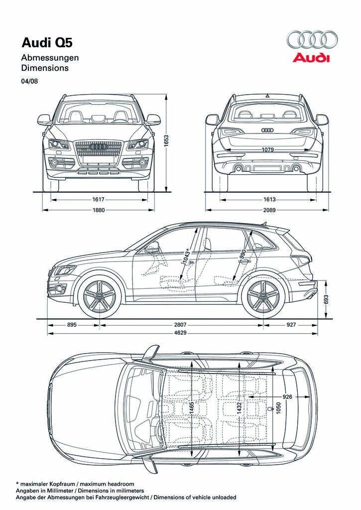 Audi Q5 SMCarsNet - Car Blueprints Forum 살 것 Pinterest - best of car blueprint in hd