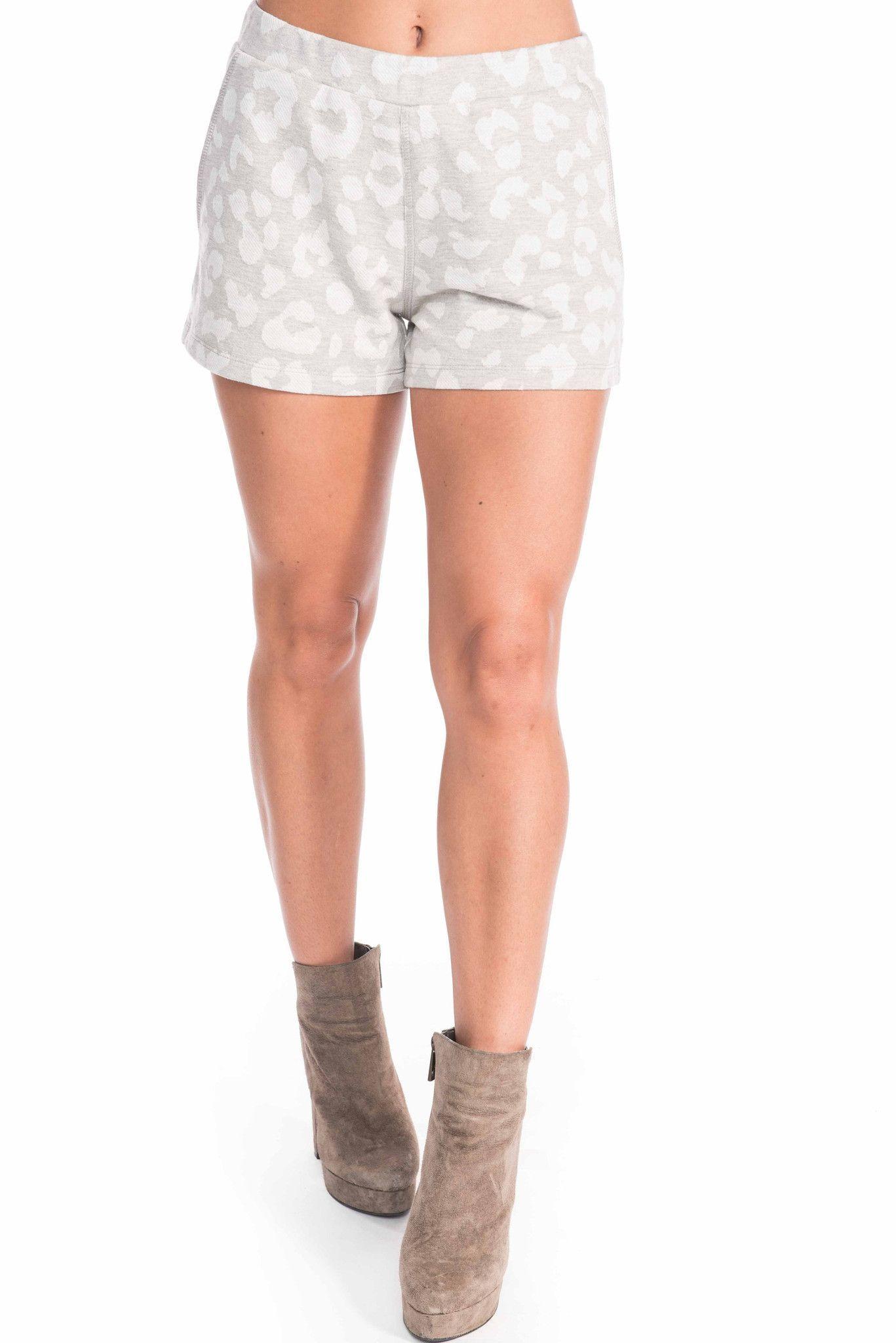 Fallon Leopard Shorts