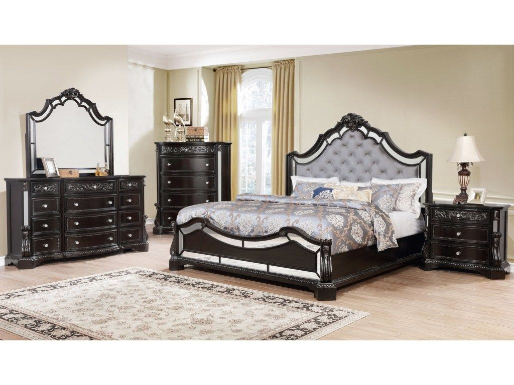 Crown Mark Bankston Collection Bedroom Set With Images King