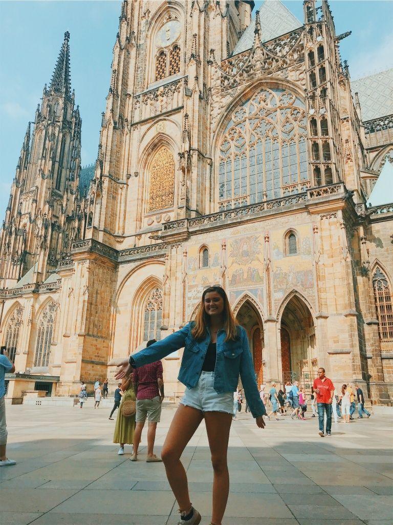 Prague Castle, St  Vitus Cathedral, Prague Czech Republic