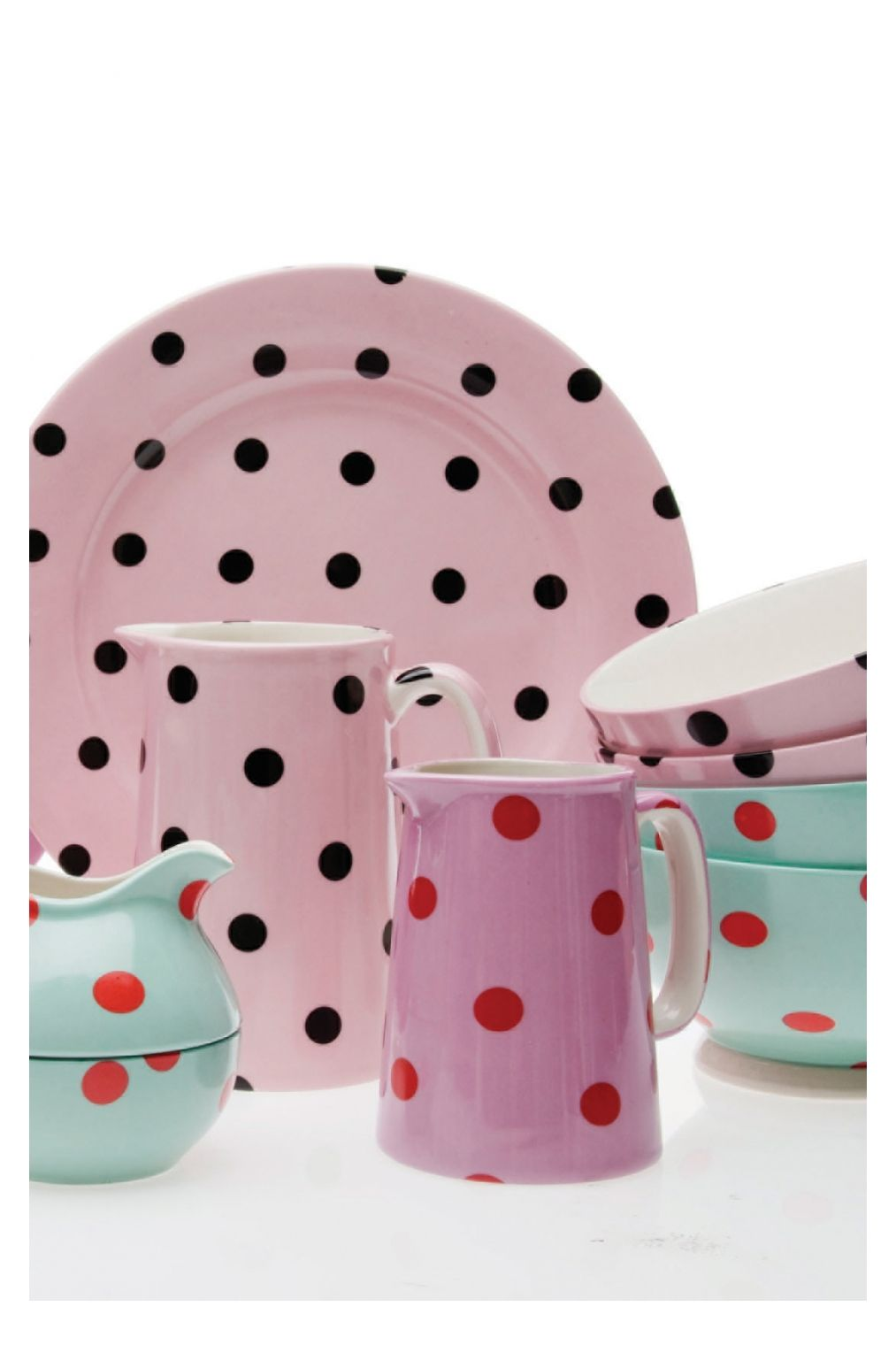 Spotty Dishes Polka Dot Dishes Polka Dot Plate Polka Dots