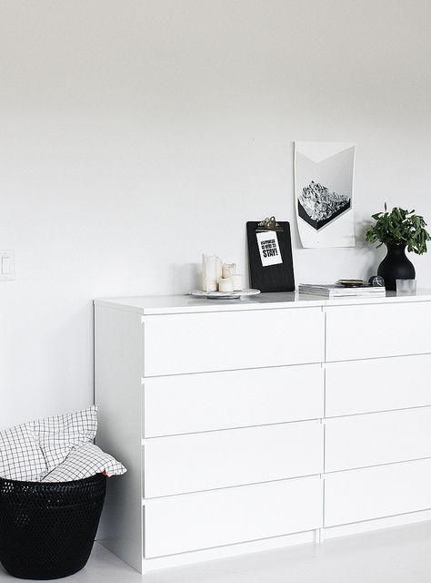 bedroom | Ikea malm dresser, Bedroom interior, Interior