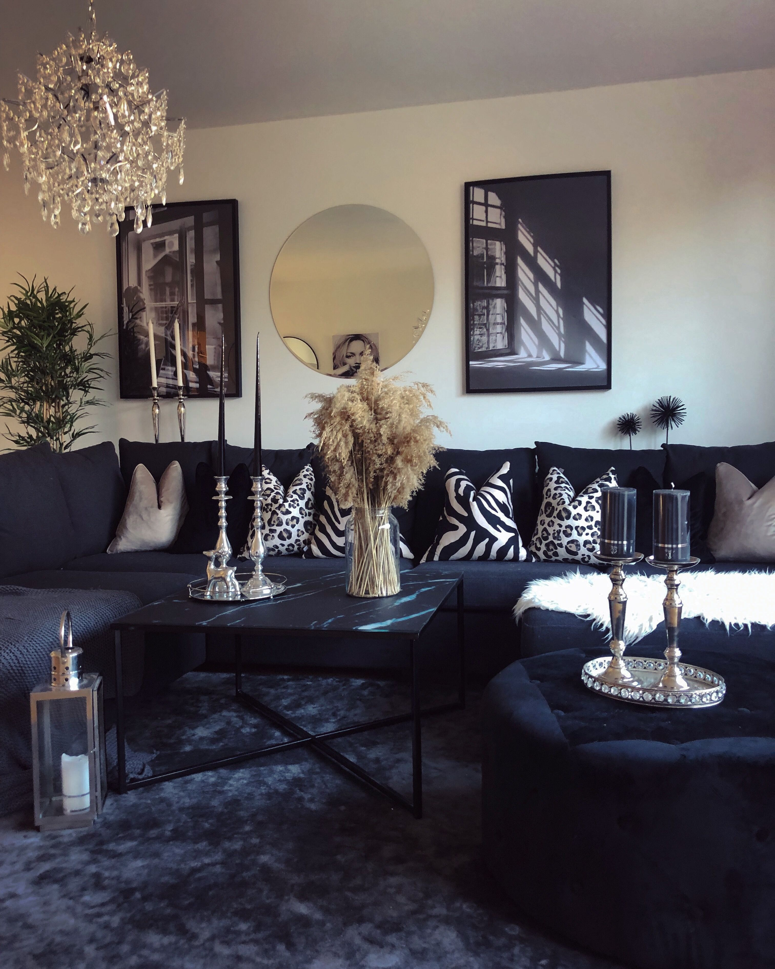 dekoration vardagsrum inspiration