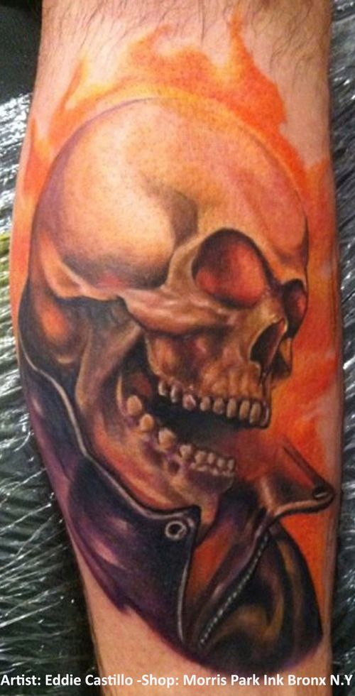 Ghostrider Tattoo Picture At Checkoutmyink Com Picture Tattoos Ghost Rider Tattoo Marvel Tattoos