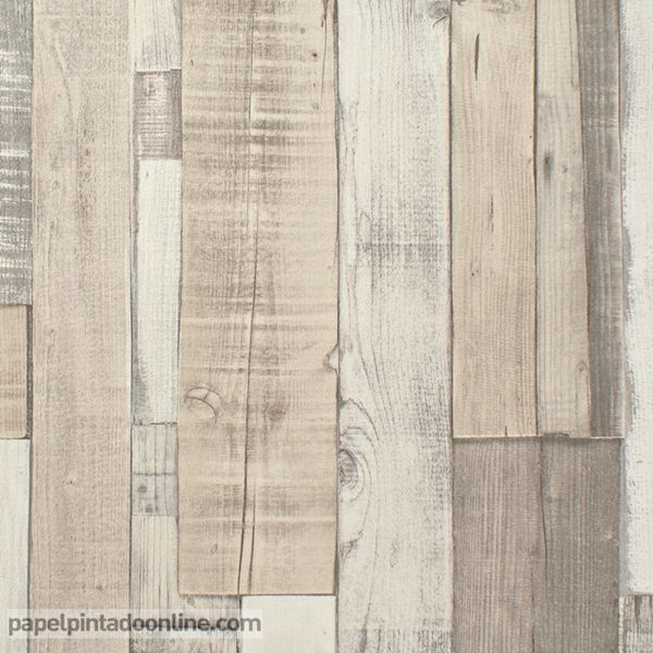 Papel pintado new walls nws 1844 66 15 papel de imitaci n - Papel imitacion madera ...