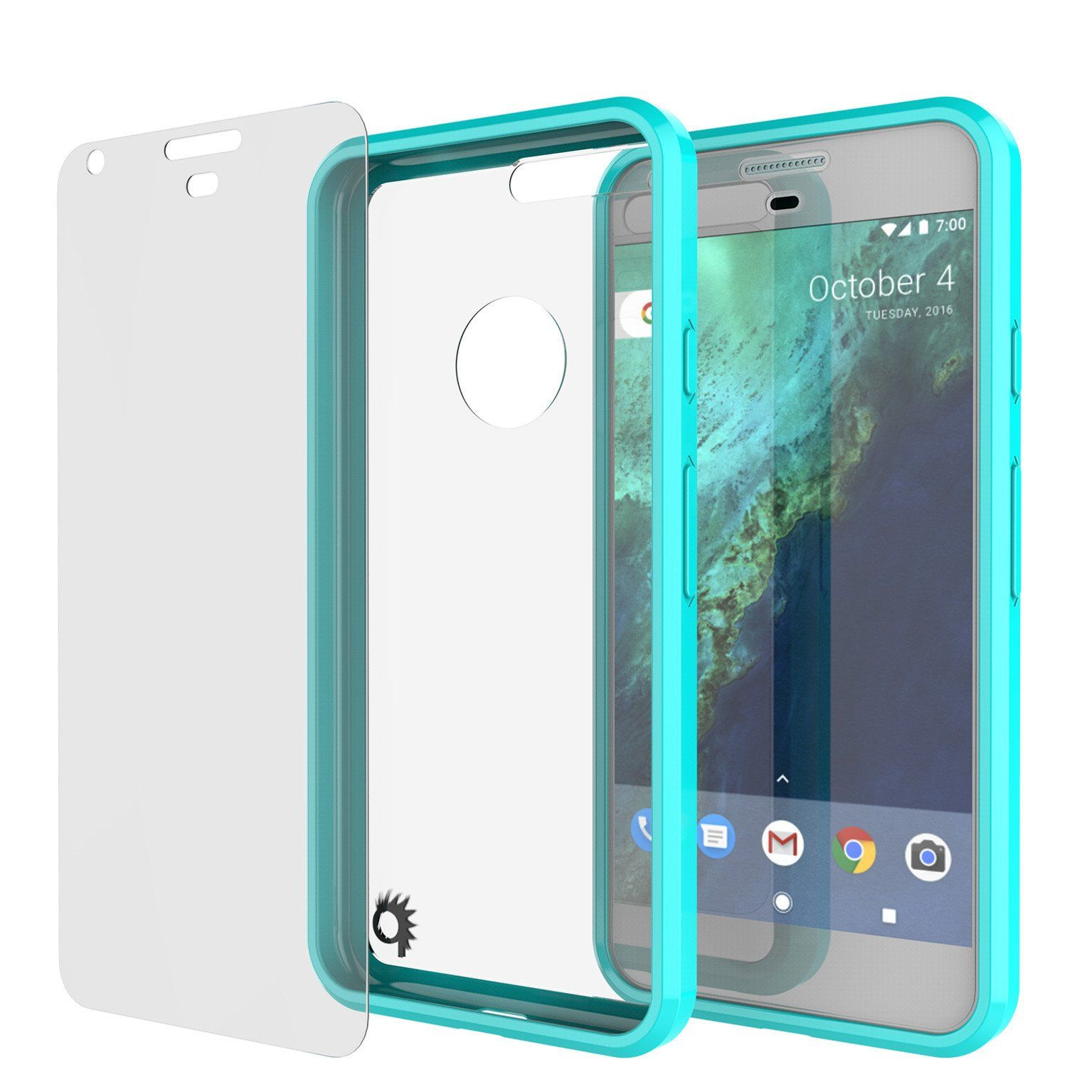 Google Pixel XL Case Punkcase® LUCID 2.0 Light Blue Series for ...