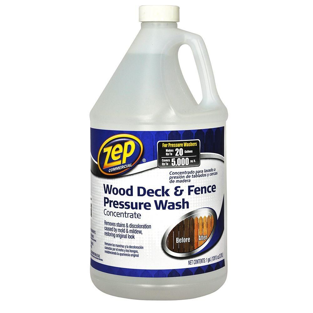 128 Oz Deck And Fence Cleaner Case Of 4 Pressure Washing