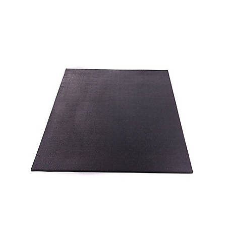 Utility Rubber Mat Black 4 Ft X 3 Ft X 1 2 In 124634 At Tractor Supply Co In 2020 Tractor Supplies Rubber Mat Utility Sheds