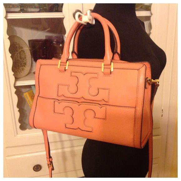 2cbb9c0160f Tory Burch Jessica Satchel in Snapdragon This is the pre-owned Jessica  satchel in the