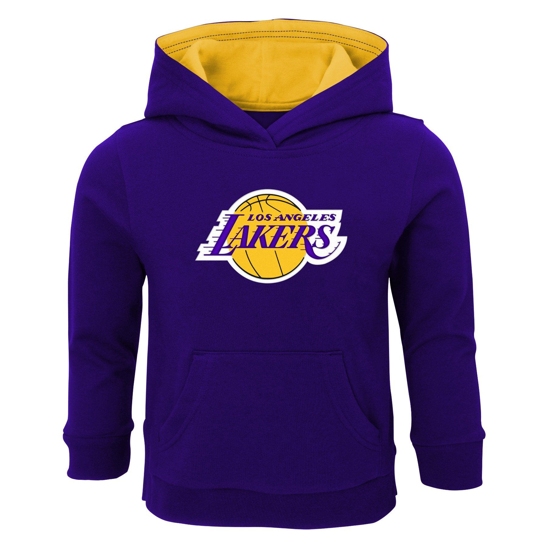 Lakers Pullover Sweatshirt With Hood Sweatshirts Pullover Sweatshirt Lakers