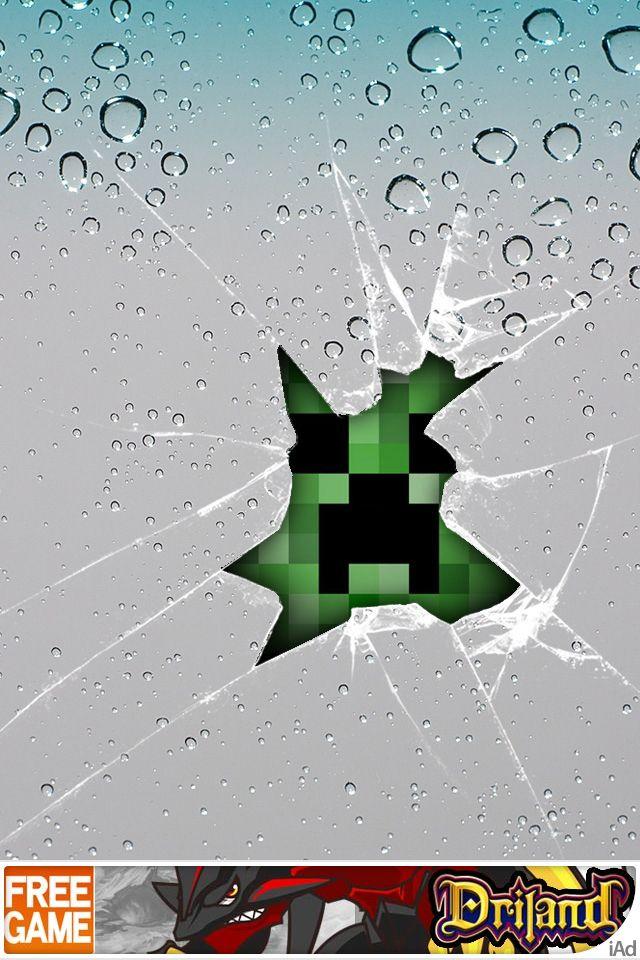 Pin By D Minecraft On Minecraft Minecraft Wallpaper Creeper